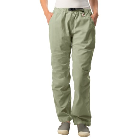Gramicci Original G Dourada Pants Cotton Twill, Straight Leg (For Women)