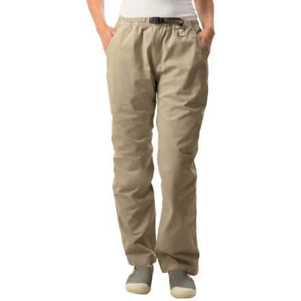 Gramicci Original G Dourada Pants - Cotton Twill, Straight Leg (For Women) in Beach Khaki - Closeouts