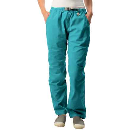 Gramicci Original G Dourada Pants - Cotton Twill, Straight Leg (For Women) in Biscay Bay - Closeouts