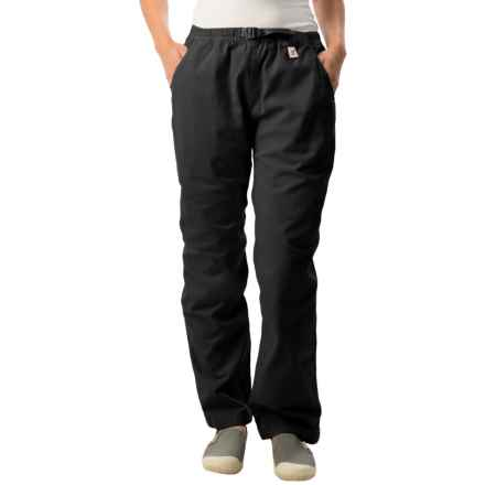 Gramicci Original G Dourada Pants - Cotton Twill, Straight Leg (For Women) in Black - Closeouts