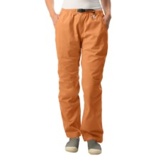 Gramicci Original G Dourada Pants - Cotton Twill, Straight Leg (For Women) in Clementine - Closeouts