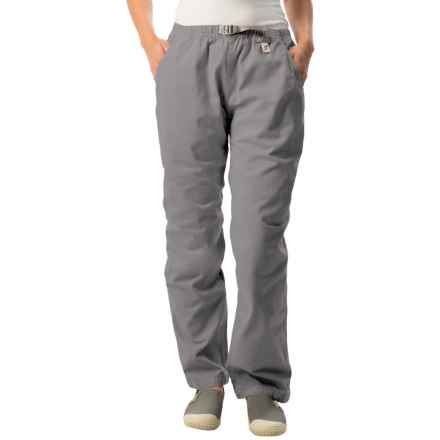 Gramicci Original G Dourada Pants - Cotton Twill, Straight Leg (For Women) in Dim Grey - Closeouts