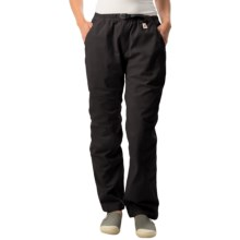 Gramicci Original G Dourada Pants - Cotton Twill, Straight Leg (For Women) in Ebony - Closeouts