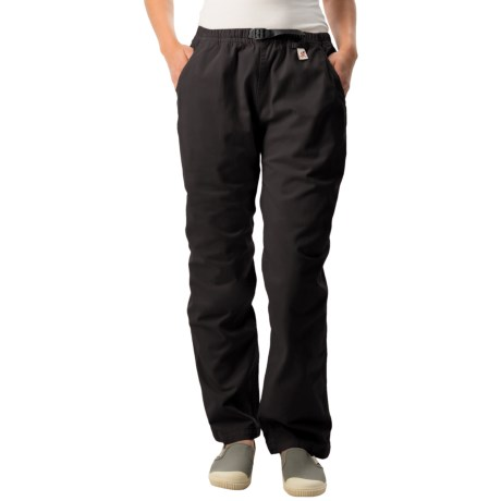 Gramicci Original G Dourada Pants - Cotton Twill, Straight Leg (For Women) in Ebony