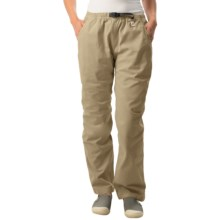 Gramicci Original G Dourada Pants - Cotton Twill, Straight Leg (For Women) in French Khaki - Closeouts