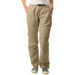 Gramicci Original G Dourada Pants - Cotton Twill, Straight Leg (For Women) in French Khaki