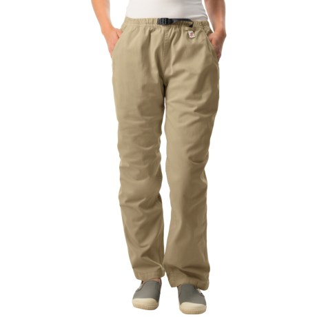 Gramicci Original G Dourada Pants - Cotton Twill, Straight Leg (For Women) in French Khaki