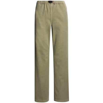 Gramicci Original G Dourada Pants - Cotton Twill, Straight Leg (For Women) in Hot Rocks - Closeouts