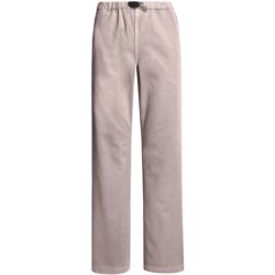 Gramicci Original G Dourada Pants - Cotton Twill, Straight Leg (For Women) in Coal