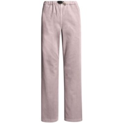 Gramicci Original G Dourada Pants - Cotton Twill, Straight Leg (For Women) in Clementine
