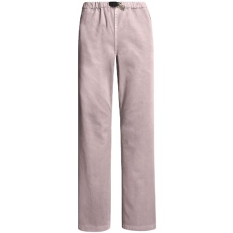 Gramicci Original G Dourada Pants - Cotton Twill, Straight Leg (For Women) in Keepsake Lilac