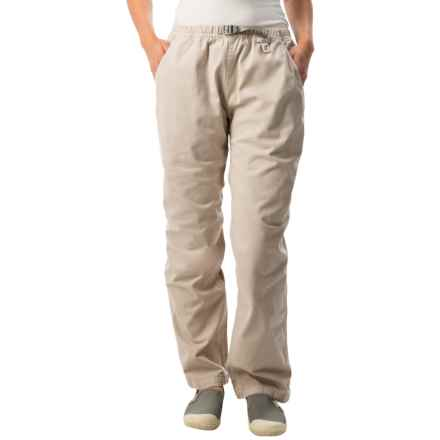 Gramicci Original G Dourada Pants - Cotton Twill, Straight Leg (For Women) in Moon Stone - Closeouts