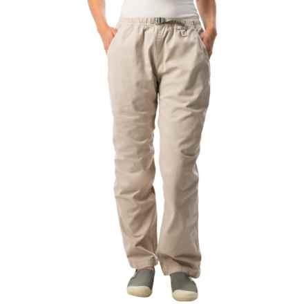 Gramicci Original G Dourada Pants - Cotton Twill, Straight Leg (For Women) in Moon Stone - Closeouts