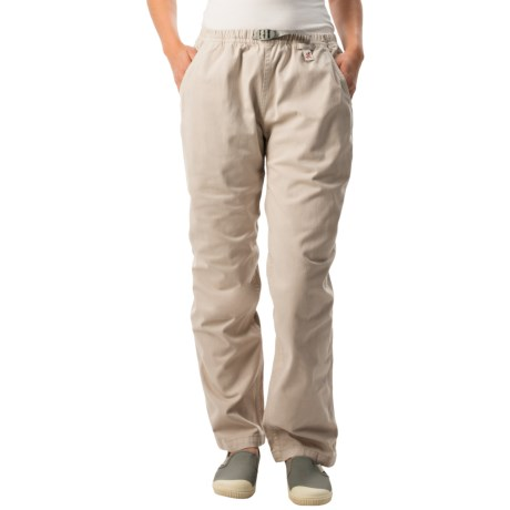 Gramicci Original G Dourada Pants - Cotton Twill, Straight Leg (For Women) in Moonstone