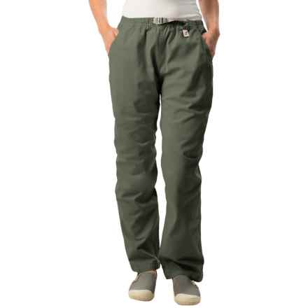 Gramicci Original G Dourada Pants - Cotton Twill, Straight Leg (For Women) in Old Army - Closeouts