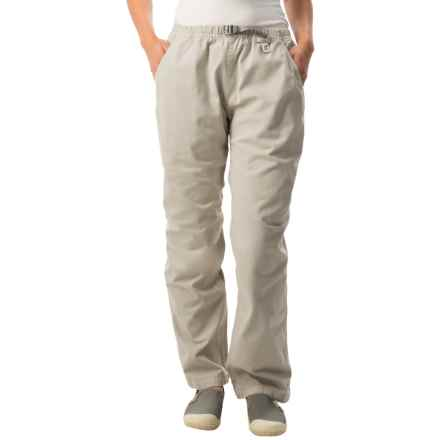 Gramicci Original G Dourada Pants - Cotton Twill, Straight Leg (For Women) in Old Stone - Closeouts