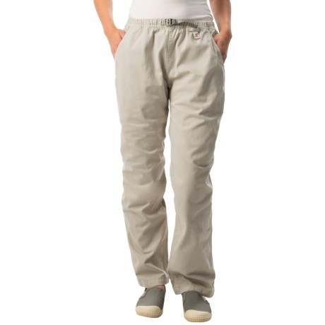 Gramicci Original G Dourada Pants - Cotton Twill, Straight Leg (For Women) in Old Army