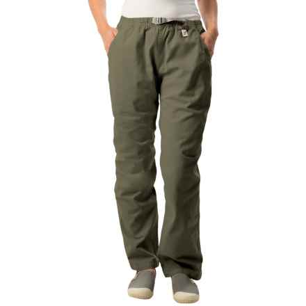 Gramicci Original G Dourada Pants - Cotton Twill, Straight Leg (For Women) in Olive Drab - Closeouts