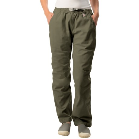 Gramicci Original G Dourada Pants - Cotton Twill, Straight Leg (For Women)