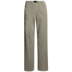 Gramicci Original G Dourada Pants - Cotton Twill, Straight Leg (For Women) in Ebony