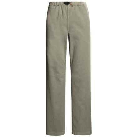 Gramicci Original G Dourada Pants - Cotton Twill, Straight Leg (For Women) in Shale - Closeouts