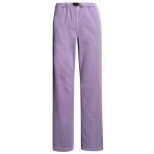 Gramicci Original G Dourada Pants - Cotton Twill, Straight Leg (For Women) in Sultry Lilac - Closeouts