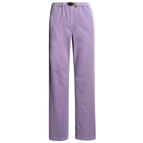 Gramicci Original G Dourada Pants - Cotton Twill, Straight Leg (For Women) in Sultry Lilac
