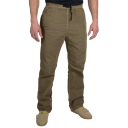 Gramicci Original G Dourada Pants - Cotton Twilll, Straight Leg (For Men) in Bison Brown