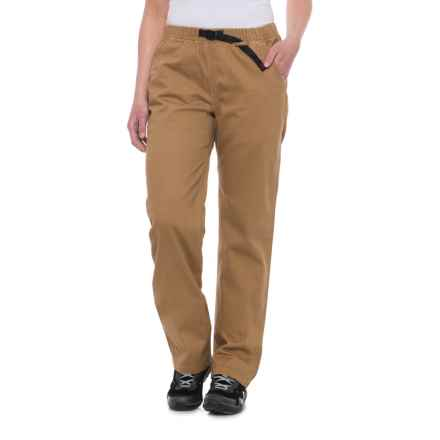 Gramicci Original G Dourada Pants - Organic Cotton (For Women) in Sienna Brown - Closeouts
