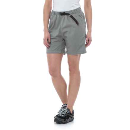 Gramicci Original G Dourada Shorts - Organic Cotton (For Women) in Fog Grey - Closeouts