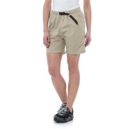 Gramicci Original G Dourada Shorts - Organic Cotton (For Women) in Moon Stone - Closeouts
