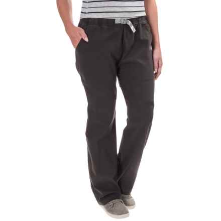 Gramicci Original G Orphia Pants - Stretch Cotton (For Women) in Black - Closeouts