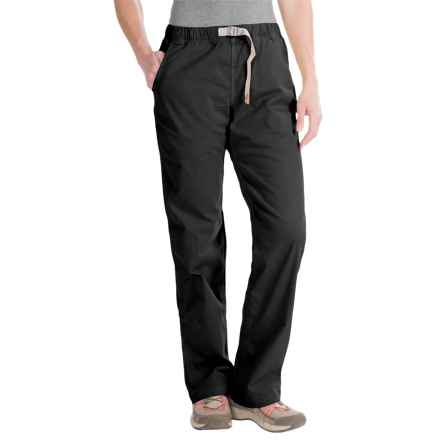 Gramicci Original G Orphia Pants - Stretch Twill (For Women) in Black - Closeouts