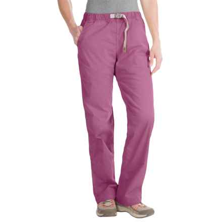 Gramicci Original G Orphia Pants - Stretch Twill (For Women) in Grape Nectar - Closeouts