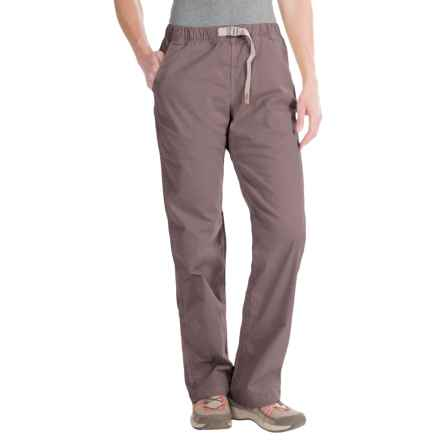 Gramicci Original G Orphia Pants - Stretch Twill (For Women) in Mink Brown - Closeouts