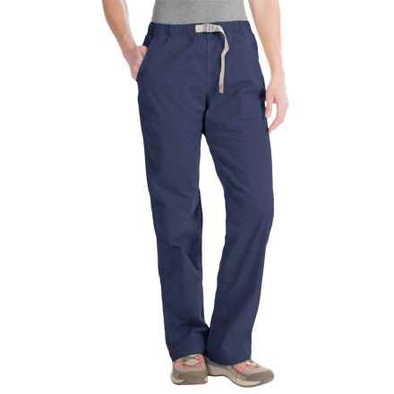 Gramicci Original G Orphia Pants - Stretch Twill (For Women) in Nightshadow Blue - Closeouts