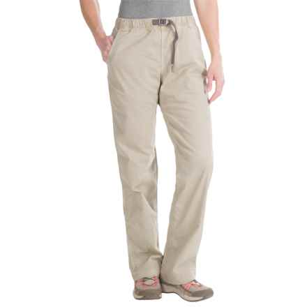 Gramicci Original G Orphia Pants - Stretch Twill (For Women) in Old Stone - Closeouts