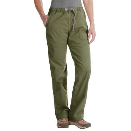 Gramicci Original G Orphia Pants - Stretch Twill (For Women) in Olive - Closeouts