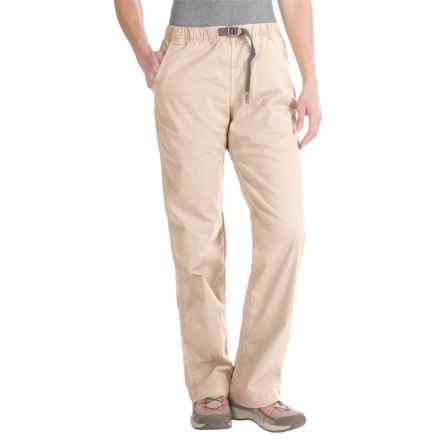 Gramicci Original G Orphia Pants - Stretch Twill (For Women) in Sand - Closeouts