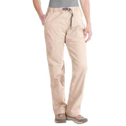 Gramicci Original G Orphia Pants - Stretch Twill (For Women) in Sand - Closeouts