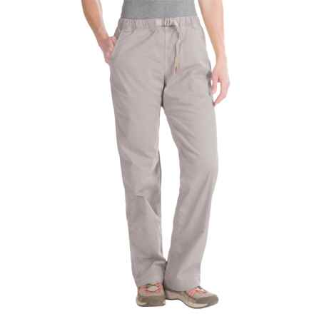 Gramicci Original G Orphia Pants - Stretch Twill (For Women) in Seafoam Grey - Closeouts