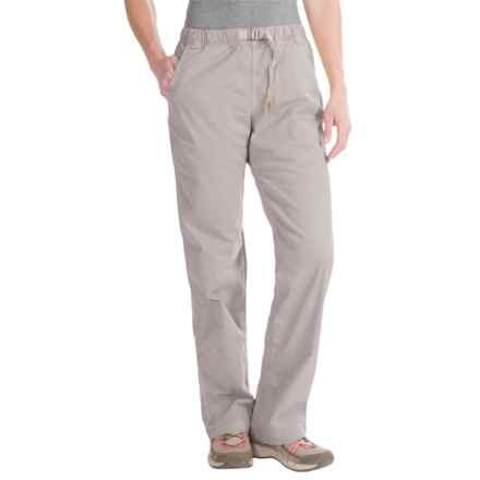 Gramicci Original G Orphia Pants - Stretch Twill (For Women) in Seafoam Grey - Closeouts
