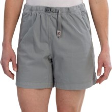 Gramicci Original G Orphia Shorts - Stretch Twill  (For Women) in Dove Grey - Closeouts