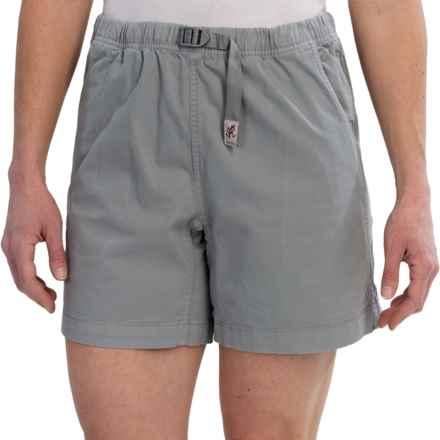 Gramicci Original G Orphia Shorts - Stretch Twill  (For Women) in Dove Grey - Closeouts