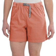 Gramicci Original G Orphia Shorts - Stretch Twill  (For Women) in Orange Tango - Closeouts