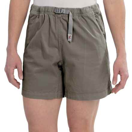 Gramicci Original G Orphia Shorts - Stretch Twill  (For Women) in Shale - Closeouts