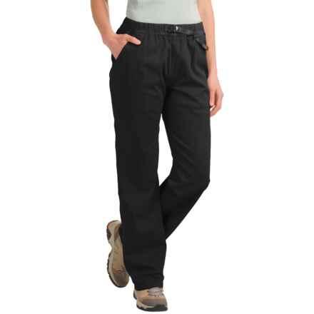 Gramicci Original G Pants - Organic Cotton (For Women) in Black - Closeouts