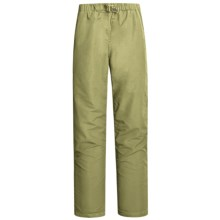 Gramicci Original G QD Pants - Nylon, Straight Leg (For Women) in Aloe - Closeouts