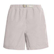 Gramicci Original G Quick-Dry Shorts - Nylon (For Women) in Stone - Closeouts