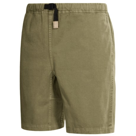 Gramicci Original G Shorts - Cotton Twill (For Men) in Willow Green